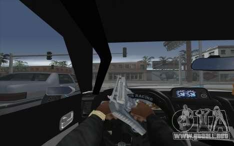 Elegy Drift King GT-1 [2.0] para GTA San Andreas vista hacia atrás