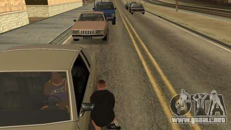 Crush Car para GTA San Andreas tercera pantalla