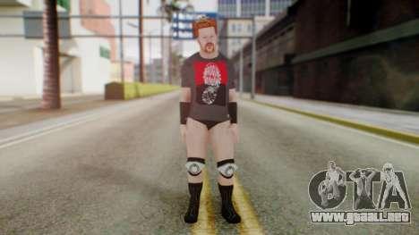 Sheamus 1 para GTA San Andreas segunda pantalla