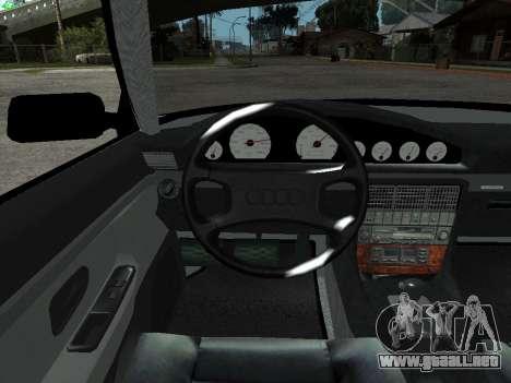 Audi 100 C4 1992 para visión interna GTA San Andreas