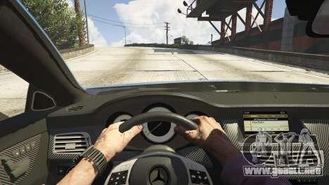 GTA 5 Mercedes-Benz CLS 6.3 AMG 1.1 vista trasera