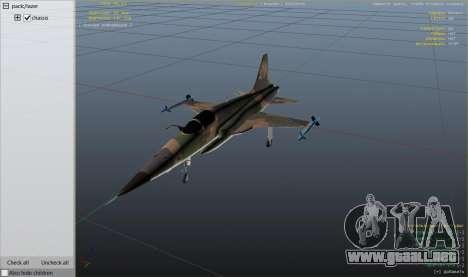 GTA 5 Northrop F-5E Tiger II FAB noveno captura de pantalla