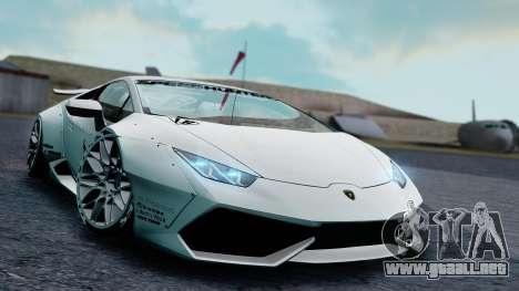 Lamborghini Huracan 2013 Liberty Walk [SHARK] para GTA San Andreas left