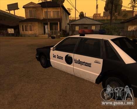 Vehículo Nuevo.txd v2 para GTA San Andreas segunda pantalla