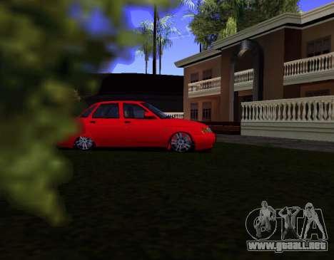 VAZ 2110 KBR para GTA San Andreas left