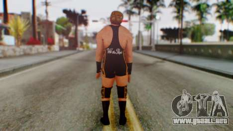 WWE Jack Swagger para GTA San Andreas tercera pantalla
