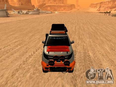 Ford Explorer 2013 Off Road para GTA San Andreas left