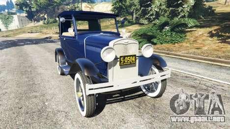 Ford Model T 1927 [Tin Lizzie] para GTA 5