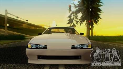 Elegy HellCat para GTA San Andreas vista posterior izquierda