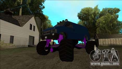 GTA 5 Vapid Speedo Monster Truck para el motor de GTA San Andreas