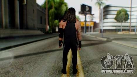 The Undertaker para GTA San Andreas tercera pantalla