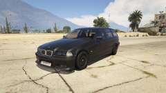 BMW M3 E36 Touring para GTA 5