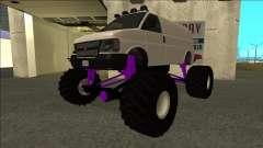 GTA 5 Vapid Speedo Monster Truck