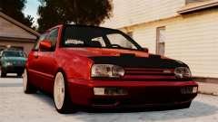 Volkswagen Golf VR6 1998 DTD Tuned para GTA 4