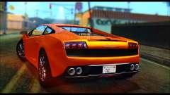 Lamborghini Gallardo LP560 PJ para GTA San Andreas