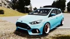 Ford Focus RS 2017 Camber para GTA 4