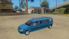 Lada Largus 7-door para GTA San Andreas