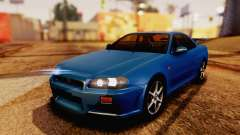 Nissan Skyline GT-R R34 V-spec 1999 para GTA San Andreas