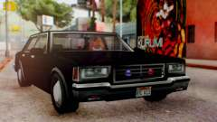 Unmarked Police Cutscene Car Normal para GTA San Andreas