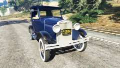Ford Model T 1927 [Tin Lizzie] para GTA 5