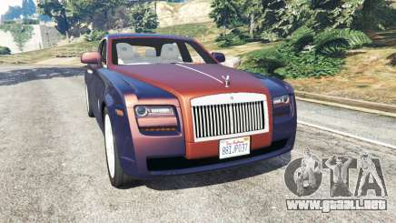 Rolls Royce Ghost 2014 v1.2 para GTA 5