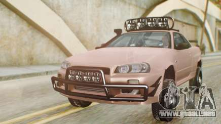 Nissan Skyline GT-R R34 RAID Spec para GTA San Andreas