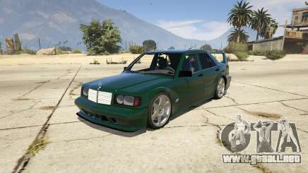 Mercedes-Benz 190E Evolution v1.1 para GTA 5