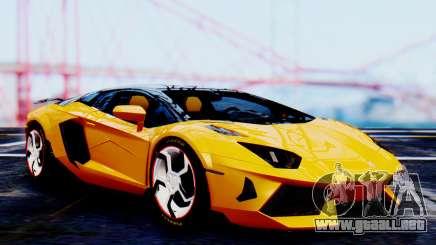 Lamborghini Aventador Mansory Carbonado Color para GTA San Andreas
