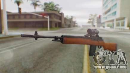 Arma2 M14 Sniper para GTA San Andreas