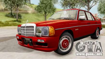 Mercedes-Benz 230E AMG 3.2 1982 Evolution Mod para GTA San Andreas