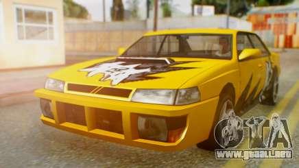 El sultán Винил из need For Speed ProStreet para GTA San Andreas