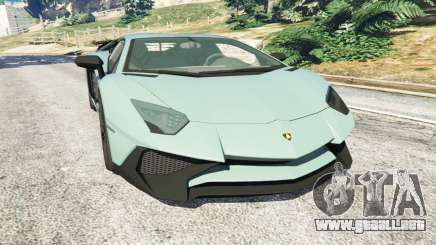 Lamborghini Aventador Super Veloce v0.2 para GTA 5