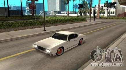 Sabre Boso para GTA San Andreas