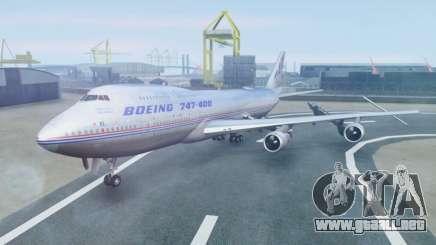 Boeing 747-400 Prototype (N401PW) para GTA San Andreas