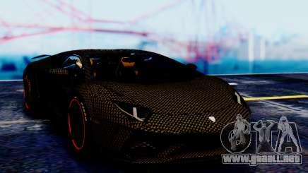Lamborghini Aventador Mansory Carbonado para GTA San Andreas