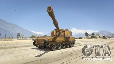 M109 (SAU) Paladin para GTA 5