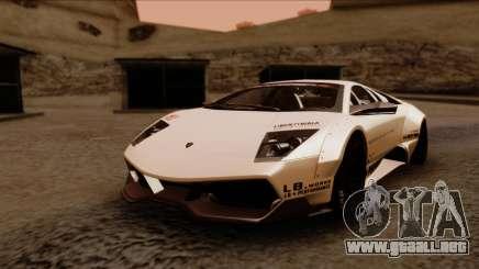 Lamborghini Murcielago LP670-4 SV 2010 para GTA San Andreas
