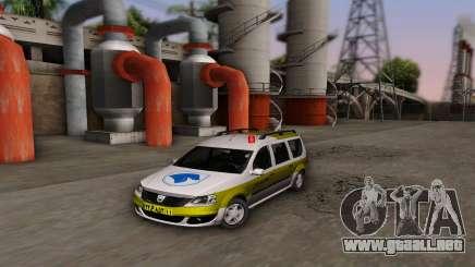 Dacia Logan Emdad Khodro para GTA San Andreas