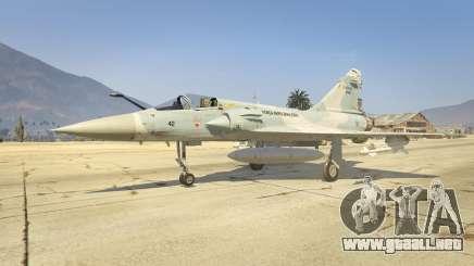 Dassault Mirage 2000-C FAB para GTA 5