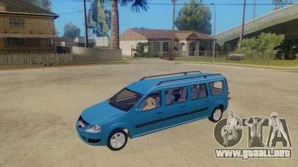 Lada Largus 7-door para GTA San Andreas