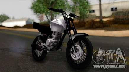 Honda CG Titan 150 Stunt Imitacion para GTA San Andreas