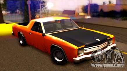 GTA SA Earl Picador para GTA San Andreas