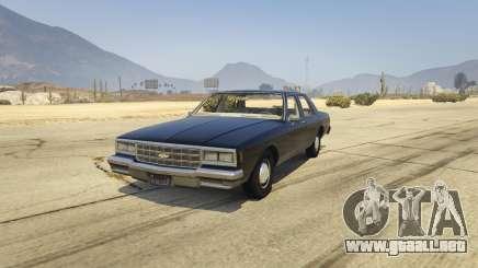 Chevrolet Impala 1985 para GTA 5