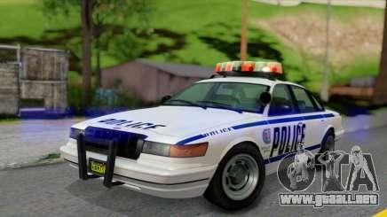 GTA 5 Curie IV White para GTA San Andreas