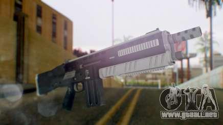 GTA 5 Assault Shotgun - Misterix 4 Weapons para GTA San Andreas