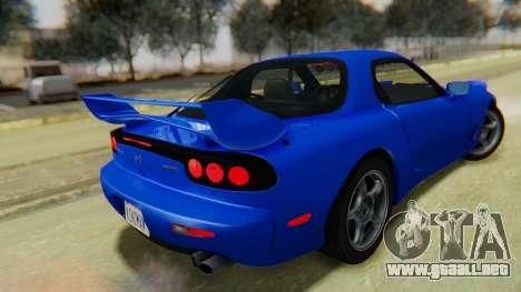 Mazda RX-7 1993 v1.1 para GTA San Andreas left