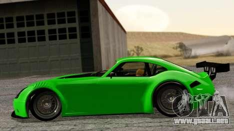 GTA 5 Bravado Verlierer Tuned para GTA San Andreas vista posterior izquierda