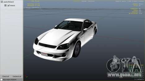 GTA 5 GTA 4 Feltzer vista lateral derecha