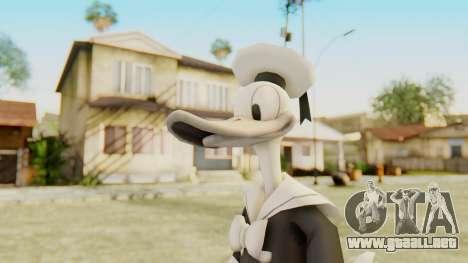 Kingdom Hearts 2 Donald Duck Timeless River v1 para GTA San Andreas