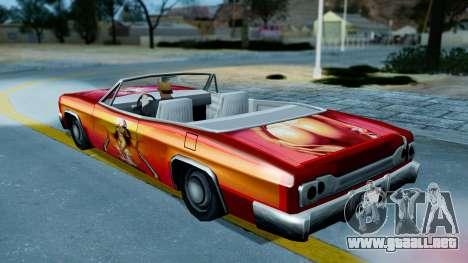 Slamvan New PJ para la visión correcta GTA San Andreas